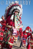 Azteca Chichimecas dancing