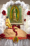 Altar for Our Lady of Guadalupe