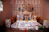 Altar for Fausto Animas Flores