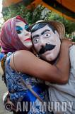 2 Masked Dancers at Section 2