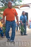 Salomon and Don Isaac dancing the jarabe