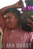 Antonio carrying the tepache