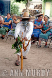 Viejo from Section 4 dancing the jarabe