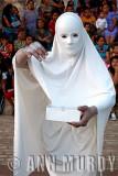 Dancer in white
