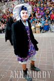 Masked Dancer with bonnet