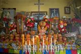 Altar in Señor Perez's house