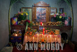 Altar in Sofia's home