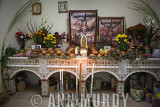 Altar at Zacarias's home