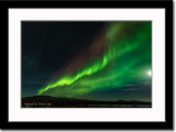 Aurora Borealis 2 - Distinctive Upper Red Ridge