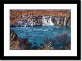 Hraunfossar - Cascading Waterfalls