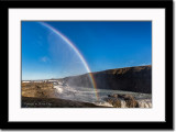 Rainbow at Gullfoss