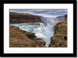 Gullfoss or Golden Waterfall