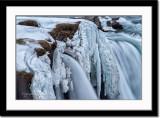 Partly frozen upper part
