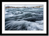 Raging river near Myrvatn