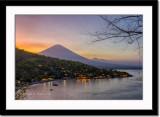 Gunung Agung - the Holy Mountain at dusk