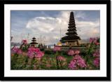 Temple at Lake Baratan