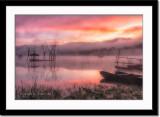 Foggy Lake Tamblingan