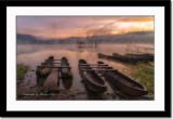 Boats at Lake Tamblingan