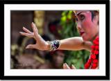 Close-up of dancer