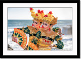 Santi and Mega - two lovely legong dancers