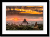 Sunrise in Old Bagan