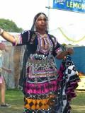 Jaipur Kawa Brass Band's dancer