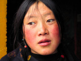 Young Tibetan woman