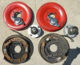 Austin Healey Drum Brakes for Sale - BN6 ribbed