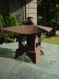 Japanese Pagoda Sheet Iron Candle Lantern
