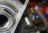 Austin Healey Rear Bearing Too-thick Gasket