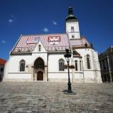 Zagreb -  Eglise St Marc