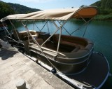 Parc national KRKA - The boat's