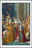 Sacre de l'empereur Napoléon et couronnement de l'impératrice Joséphine, à Notre-Dame de Paris - Jacques-Louis David