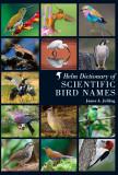 Sarus crane image coverpage@Helm dictionary of scientific birdnames