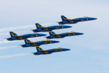 Blue Angels at the Dayton Airshow 2014