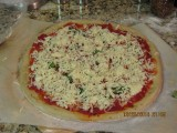 Apply the Grande Mozzarella.