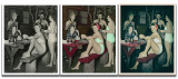 Old Photo Triptych