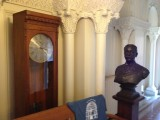 A bust of Charles Tyson Yerkes