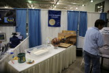 Lunar and planetary laboratory booth