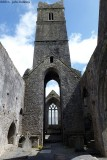 Quin Abbey Nave