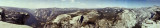 Pano from Half Dome
