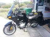 Getting the bike ready