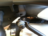 Right side top rear connection.