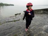 Teasing the ducks in Lake Geneva