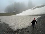 A rare encounter with snow!
