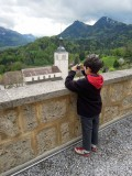 View from Le Chalet de Gruyeres