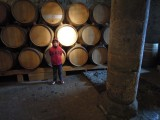 In the bowels of Chillon Castle in Montreaux