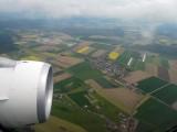 Rapeseed fields outside of Zurich