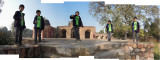 Rahil at Humayan's Tomb (27 Jan 2013)