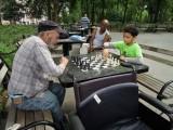First Washington Square chess game